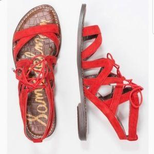 Sam Edelman 7.5 Gemma Gladiator Sandals